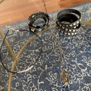 Multiple Pieces of Fashion Jewelry
